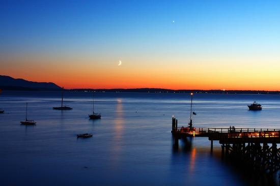 550 Fairhaven sunset