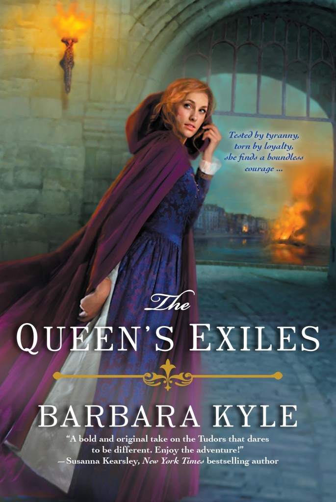 Barbara's latest release The Queen's Exiles]