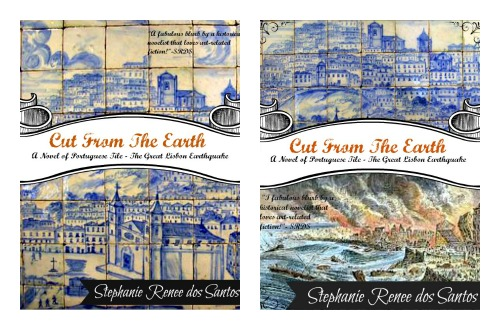 two mock book jackets