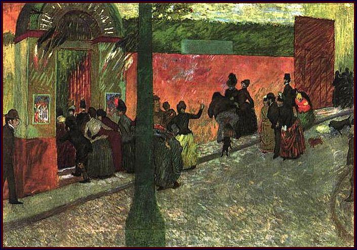 Federico Zandomeneghi enree du Moulin de la Galette 1878