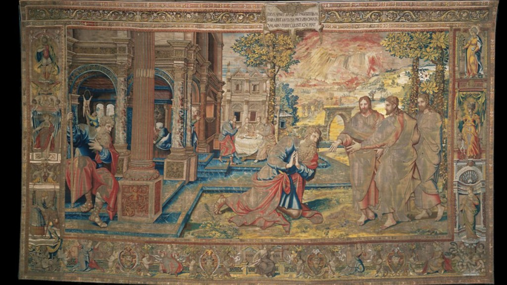 The story of Abraham tapestry